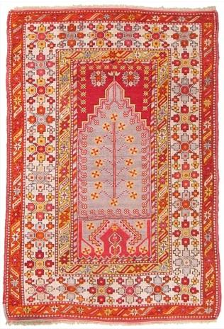 Oriental Rug (Red)